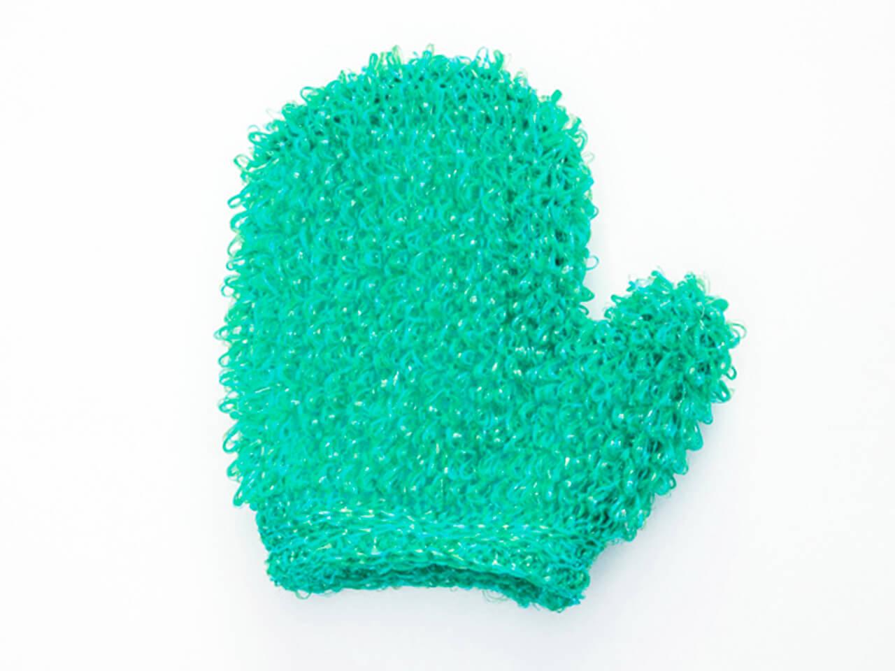 Варежка жесткая (1.5) крупномахровая